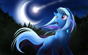Trixie and falling star by Malifikyse