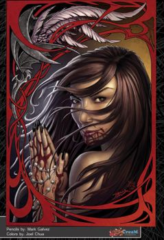 FLY ASWANG GRAPHIC NOVEL: Bessie's pray by creativemediaph