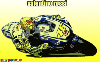 Valentino Rossi by gixgeek