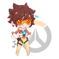 Tracer - Overwatch by Shirocreate