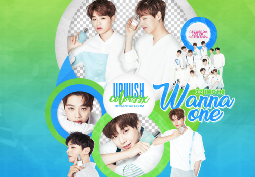 WANNA ONE PNG PACK #5/Clean. by UpWishColorssx