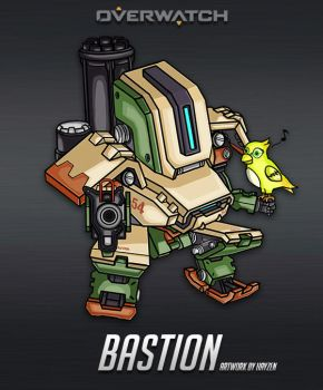 Overwatch Bastion by HayzenR