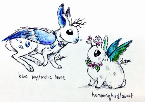 Jackelope Adoptables CLOSED by MothrNaturesMistakes