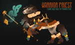 SOLD: WARRIOR PRIEST by franknsteins