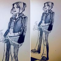 Character Design Concept Sketch by animaddict