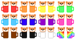 Arcanabean's Pixels! PART ONE [Toasted] by Skyflight13