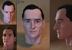 Jeremy Brett sculpture by Lenka-Slukova