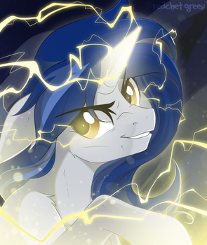 Magic Lightning by RedchetGreen