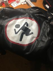 D.R.I. Customized Jacket by Lucywashere