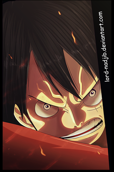 Badass Luffy by Lord-Nadjib
