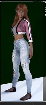 Sammi Dressed by Doing-it-in-3d