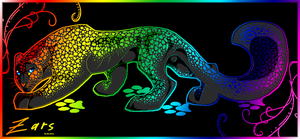 Rainbow Leopard by gard3r