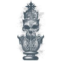 King Chess Piece Vector Design by chadlonius