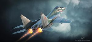 Russian Mig-29 Fulcrum by rOEN911