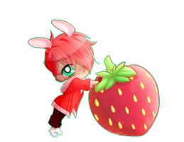 [C] Syrcaid Strawberry by Wan-Nya
