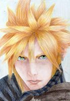 Cloud from F.F VII by Yuuki-VK17