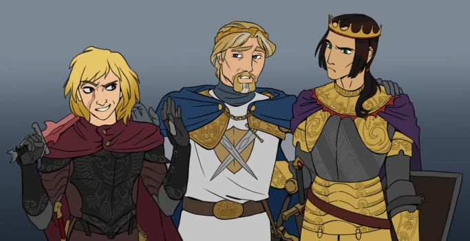 The King and His Heirs by iesnoth