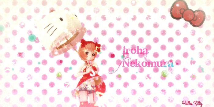 [MMD] Nekomura Iroha Wallpaper by Fluffy-mouses