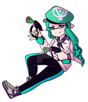 Splat Dualies by blucloud-zz