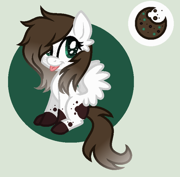{Lol,She Is Literally Mint Cookie Ice Cream} -Gift by StarHeartWaveSong