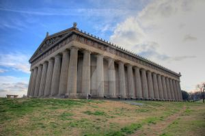 Parthenon Wide by Mooseushi