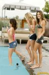 Alessandra Ambrosio poolside by lowerrider