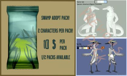 Swamp character pack by LimonzArt