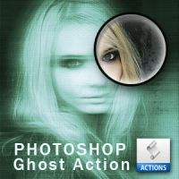 Ghost Photo Action by PsdDude