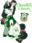 Camellia Green for Ashourii by azume-adopts