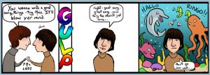 Beatles: Comicstrip 03 by lorainesammy