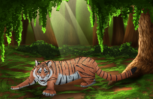 King of the Jungle by geckoZen