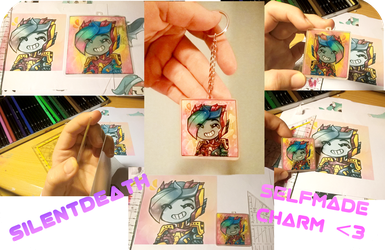 selfmade charm gift -Silentdeath- by No-pe