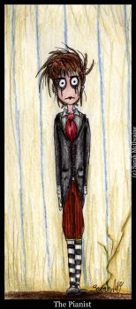 Cast of the Circus-The Pianist by tear--drop