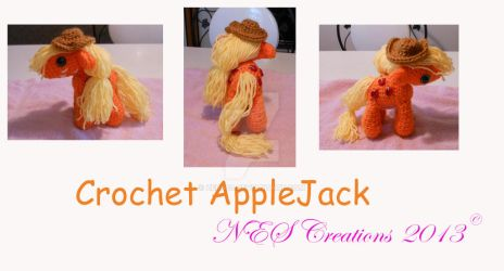 Crochet Apple Jack by Zero23