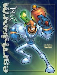 EARTHWORM JIM by nctorres