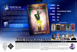 [Infografia][ES] XII - THE HANGED MAN by personauser