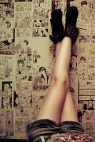 Legs up by flaviosotto
