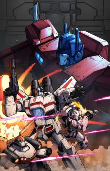IDW Optimus Prime #6 by geeshin