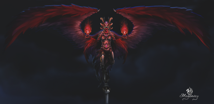 Nex Angel of Death by Magenixy