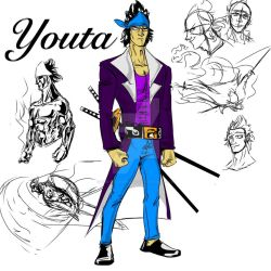 [One-Piece OC] Youta Ryuunosuke by The-Mousewood