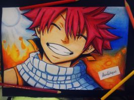 Natsu Dragneel - Fairy Tail by AlexiaRodrigues