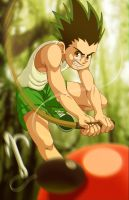 - Gon - by coreymill