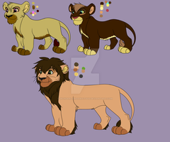 Male Lions For Point Or Paypal Adopts by Wonderlandawaitsus