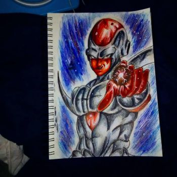 Chrome Frieza by xprotector10