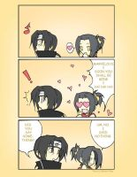 Itazula comic by Eko-chan