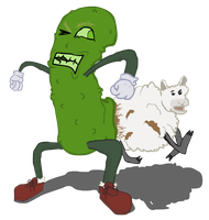 This Pickle Has Some Bad Indiges- IS THAT A SHEEP? by Vigorousjammer