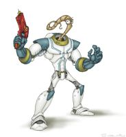 Earthworm Jim by Owl-Robot