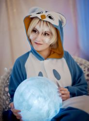 Night Owl Kigurumi Girl by Lady-I-Hellsing
