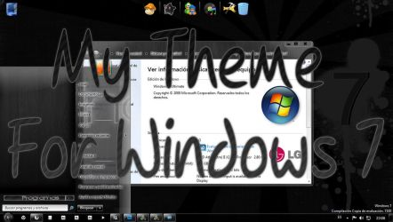 My Theme For Windows 7 by tutoriales13