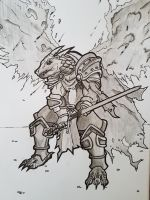 Dragonborn Palidian by WhiteFox214